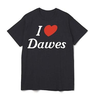 Dawes - I <3 Dawes Black Tee