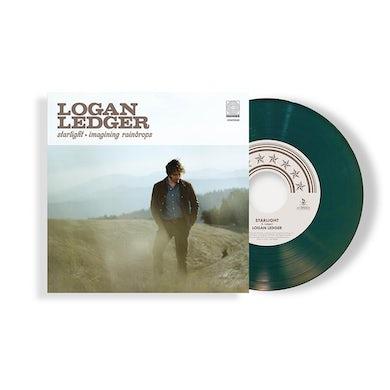 """Logan Ledger - Starlight / Imagining Raindrops Green 7"""" (Vinyl)"""