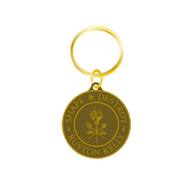 Ruston Kelly - Brass Keychain