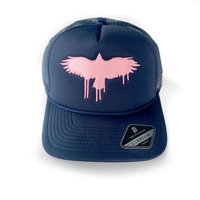 Ruston Kelly - Navy Crow Snapback
