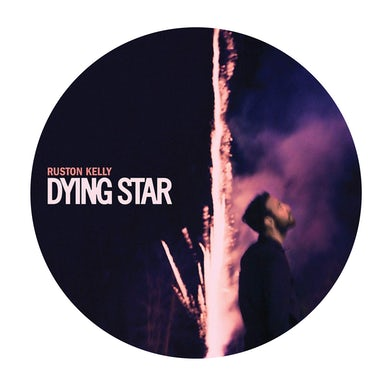 "Ruston Kelly Dying Star Signed 12"" Drumhead"