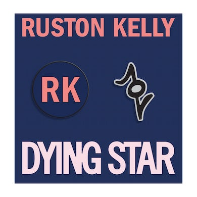 Ruston Kelly - Dying Star Pin Set