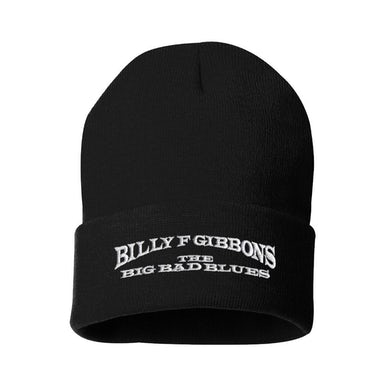 The Big Bad Blues Black Knit Cap