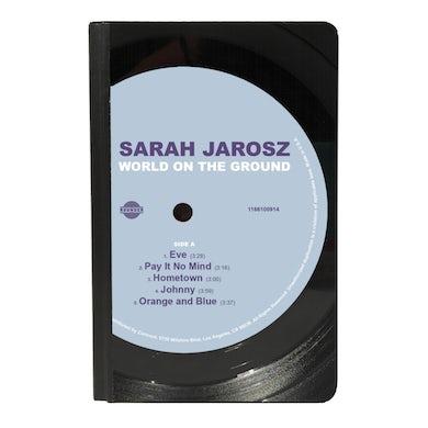 Sarah Jarosz - World On The Ground Vinyl Pocket Journal