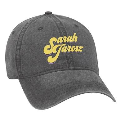 Sarah Jarosz - Embroidered Black Canvas Cap