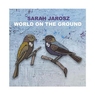 Sarah Jarosz - World On The Ground Enamel Pin Set