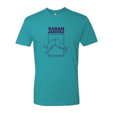 Sarah Jarosz - Aqua Two Bird T-Shirt