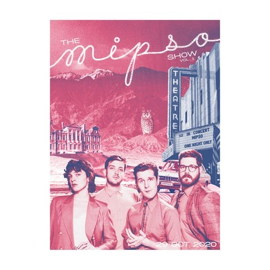 Mipso - Livestream Event Poster
