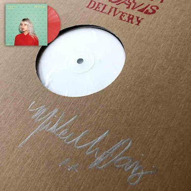 Delivery Test Pressing and Red Vinyl LP