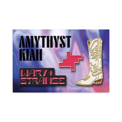 "Amythyst Kiah ""Wary + Strange"" Enamel Pin Pack (Set of 3)"