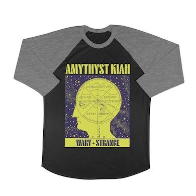 """Amythyst Kiah """"Wary + Strange"""" Thinking Head Baseball Tee"""
