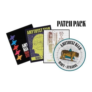 "Amythyst Kiah ""Wary + Strange"" Woven Patch Pack (set of 4)"
