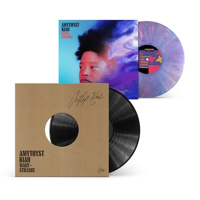 """Amythyst Kiah """"Wary + Strange"""" Signed & Numbered Test Pressing with Amethyst Dream LP (Vinyl)"""