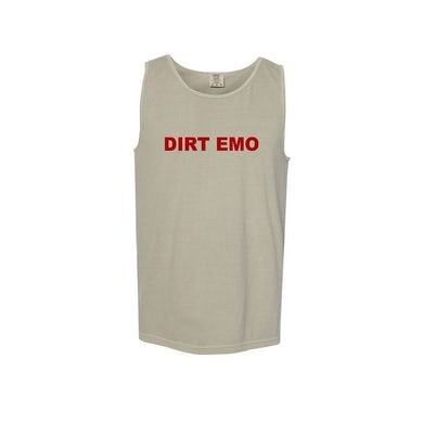 Dirt Emo Heavyweight Tank Top