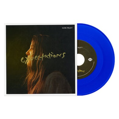 """Katie Pruitt - Expectations/Searching for the Truth Blue 7"""" Vinyl - Unsigned"""