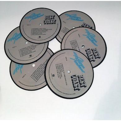 Best Coast - Always Tomorrow Vinyl Coaster Set