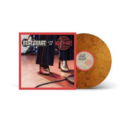Best Coast - Live at World Cafe Tigers Eye Vinyl LP