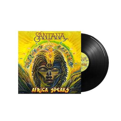 Santana Africa Speaks Black Vinyl LP