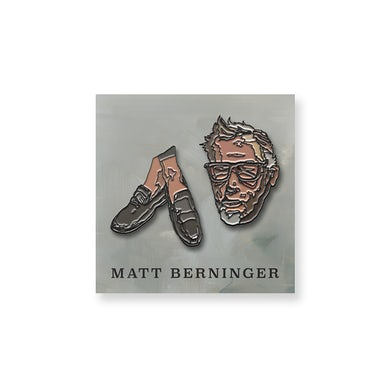 Matt Berninger Enamel Pin Set