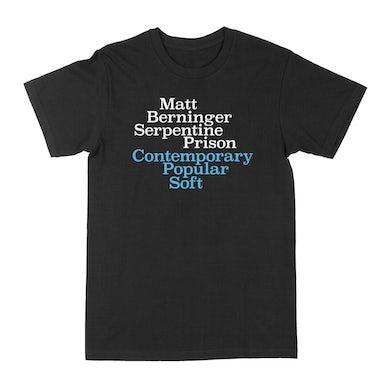 Matt Berninger Serpentine Prison Contemporary Popular Soft Tee