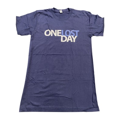 One Lost Day Tee (Navy)