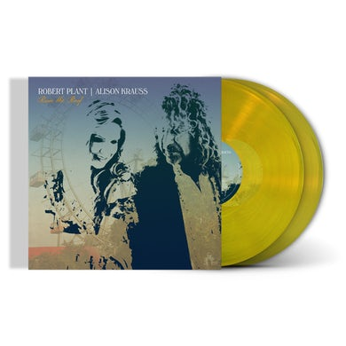 """Robert Plant / Alison Krauss Limited Edition """"Raise The Roof"""" Transparent Yellow 2xLP (Only 1500 Available Worldwide) (Vinyl)"""