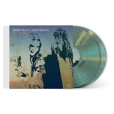 """Robert Plant / Alison Krauss Limited Edition """"Raise The Roof"""" Coke Bottle Clear 2xLP (Only 1500 Available Worldwide) (Vinyl)"""