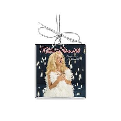 "Kristin Chenoweth ""HAPPINESS is...Christmas!"" 2"" x 2"" Ornament"