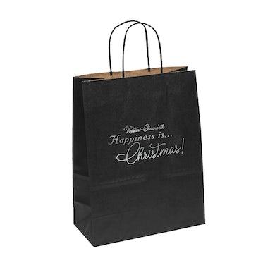 """""""HAPPINESS is...Christmas!"""" Gift Bag"""