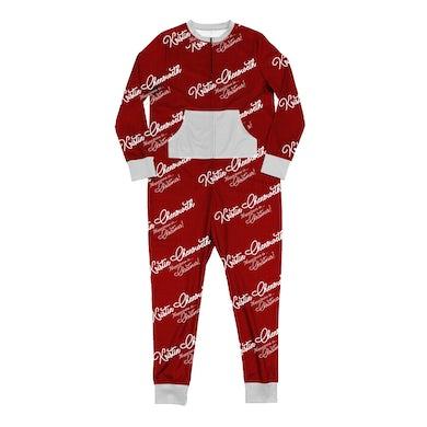 """Kristin Chenoweth """"Happiness is... Christmas!"""" Onesie Pajamas"""