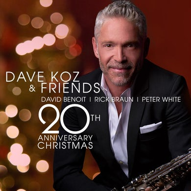 Dave Koz - 20th Anniversary Christmas Magnet