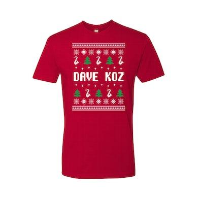 Dave Koz - Ugly Christmas T-Shirt