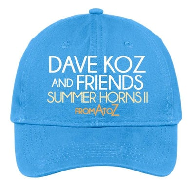 Dave Koz - Sumer Horns II Embroidered Hat