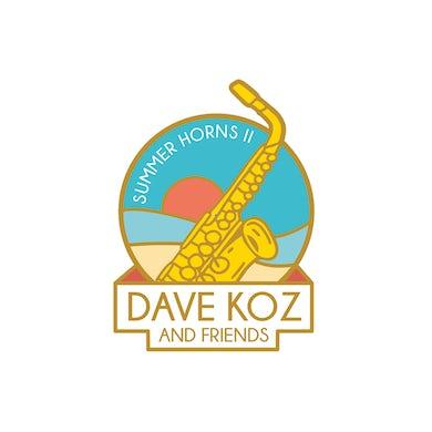 Dave Koz - Sumer Horns II Enamel Pin