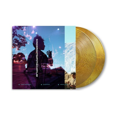 SONGWRIGHTS APOTHECARY LAB LIMITED EDITION GOLD METALLIC 2XLP w/ SIGNED 11x11 COLLECTORS ALBUM ART PRINT