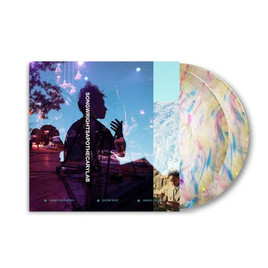 SONGWRIGHTS APOTHECARY LAB LIMITED EDITION RAINBOW 2XLP w/ SIGNED 11x11 COLLECTORS ALBUM ART PRINT
