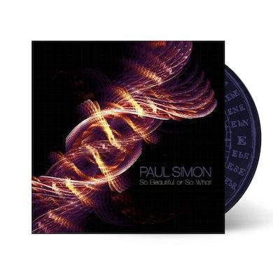 Paul Simon - So Beauiful or So What CD