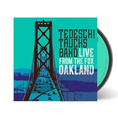 Tedeschi Trucks Band - Live From The Fox Oakland CD + DVD
