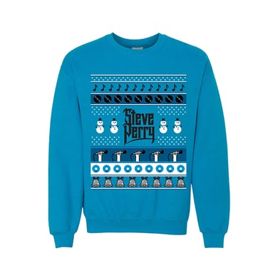 Steve Perry - Blue Ugly Christmas Sweatshirt