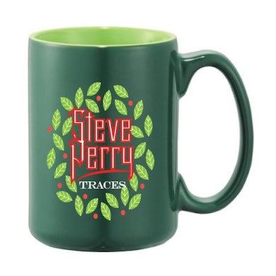 Steve Perry  Jumbo Green Christmas Mug