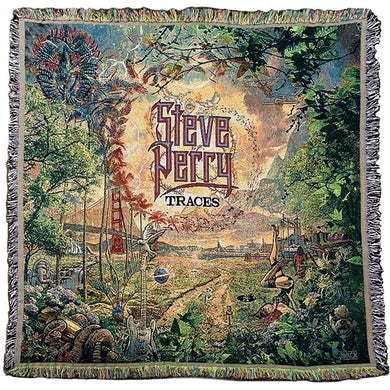 Steve Perry  Traces Blanket