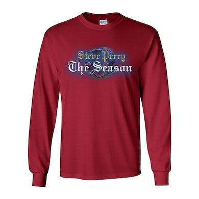 Steve Perry  The Season Red Long Sleeve T-Shirt