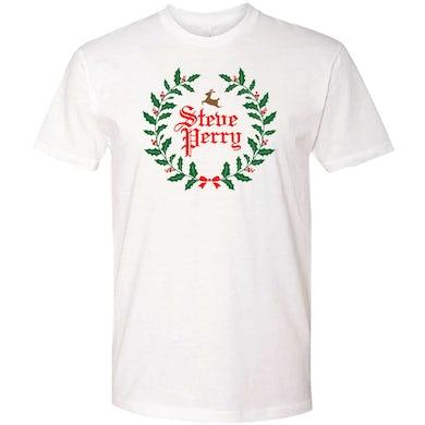Steve Perry Wreath T-shirt White