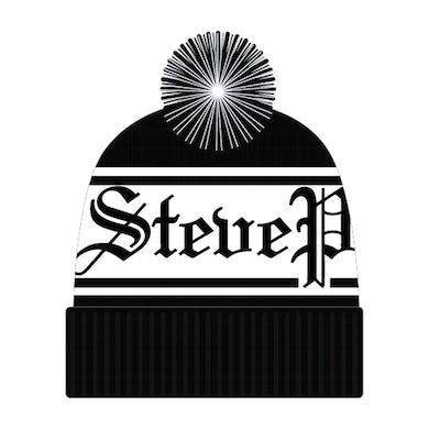 Steve Perry Black Logo Beanie