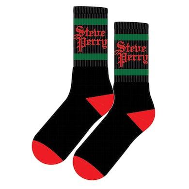 Steve Perry Black Logo Socks