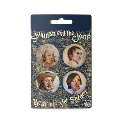 Shannon and The Clams - Year Of The Spider [Button Pack]