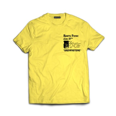 The Roots Picnic 2020 T-Shirt - Yellow