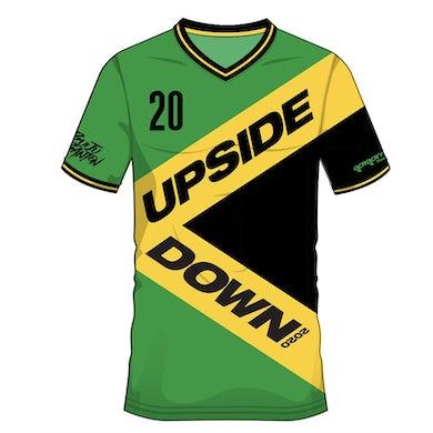 Buju Banton Upside Down Soccer Jersey