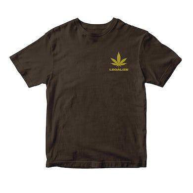 Buju Banton 4/20 Chocolate Ganja Man T-shirt