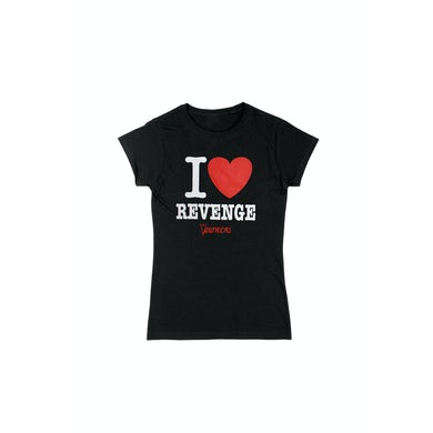 The Veronicas I Heart Revenge Black Tshirt